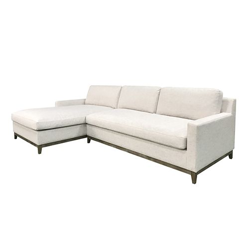 TEXAS 3 Seater White Colour Sofa With Chaise