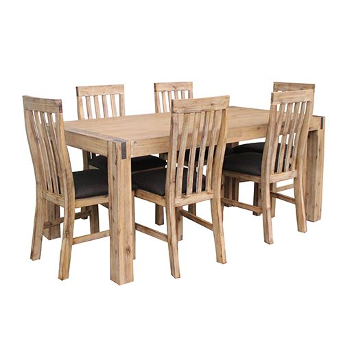 KATTEGAT DINING LARGE WITH 8 CHAIRS