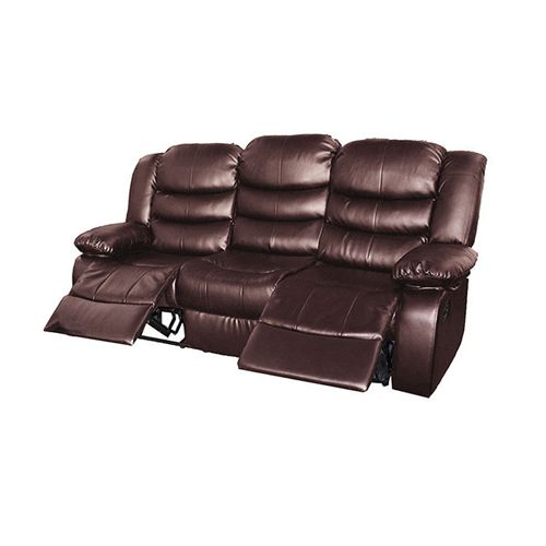 DORA RECLINER 3 SEATER  BROWN