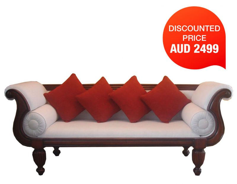 GRACE WOODEN COUCH