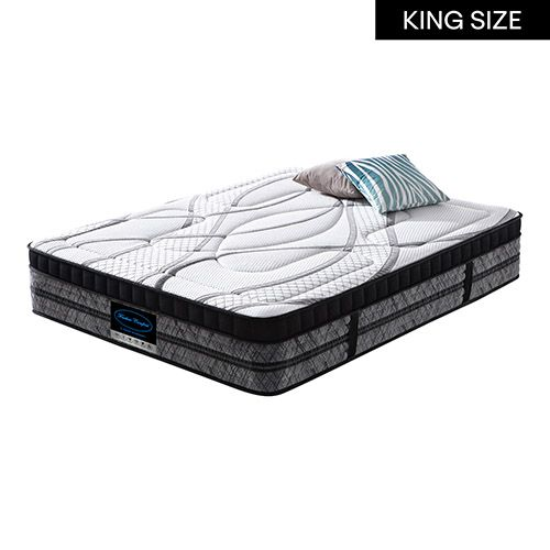 BACKCARE COLLECTION POCKET COIL SULTAN MATTRESS-KING