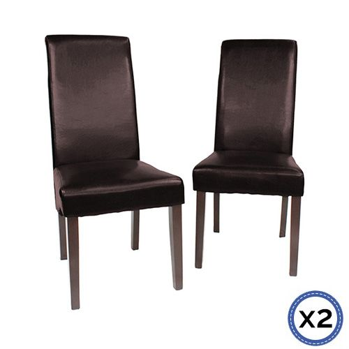 SHALE DINING CHAIRS X2
