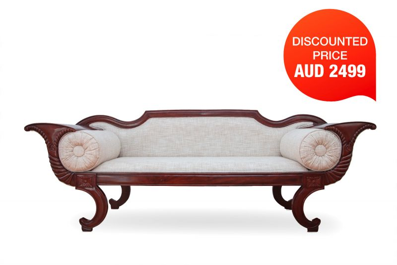VENTCO WOODEN COUCH